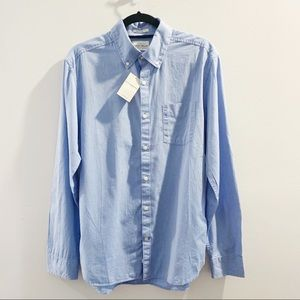 Lucky Brand White Label Fit Blue Shirt Size M